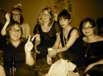 Lisa Dempster, Angela Meyer, Maddie Crofts, Estelle Tang, and moi @ The Great Gatsby Ball (2/10/09)
